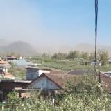 Angin Kencang Bercampur Debu Kembali Menyerang Kota Batu