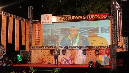 Sambutan Ketua Komisioner Bawaslu Kabupaten Situbondo (Murtapik Badaluddin Lopa, S. Sos.)