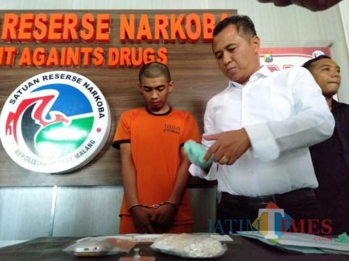 Hendak Bertransaksi Narkotika, Seribu Butir Pil Double L Berhasil Digagalkan Anggota Polres Malang
