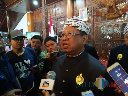 Bupati Tulungagung Maryoto Birowo / Foto : Anang Basso / Tulungagung TIMES