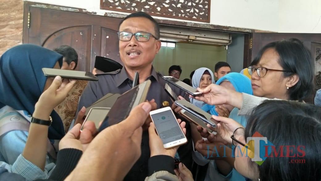 Kepala Pelaksana BPBD Jawa Timur, Suban Wahyudiono ST MM. (Foto: Imarotul Izzah/MalangTIMES)