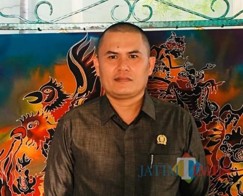 Ketua Komii C DPRD Lumajang Trisno (Foto : Moch. R. Abdu Fatah / Jatim TIMES)