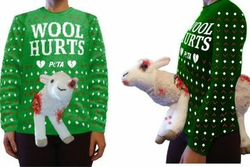 Tampilan Wool Hurts Ugly Holiday Sweater. (Foto: istimewa)