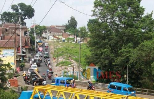 Kondisi Terkini Jembatan Kedungkandang (Foto: Dokumentasi MalangTIMES)