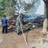 Terpercik Api Pembakaran Genteng, Gudang Kayu Luluh Lantak Dilalap Jago Merah