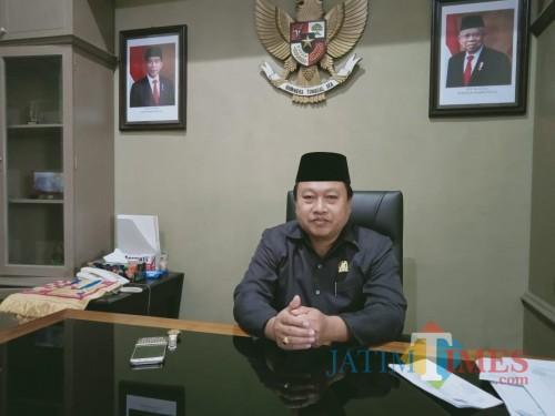 Ketua DPC PKB Kota Blitar, Yasin Hermanto.(Foto : Aunur Rofiq/BlitarTIMES)