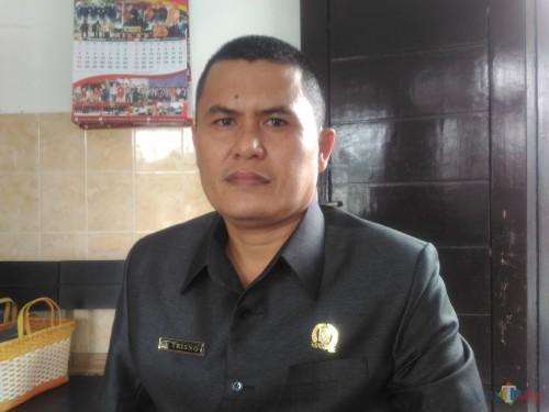 Trisno, Ketua Komisi C DPRD Lumajang (Foto : Moch. R. Abdul Fatah / Jatim TIMES)