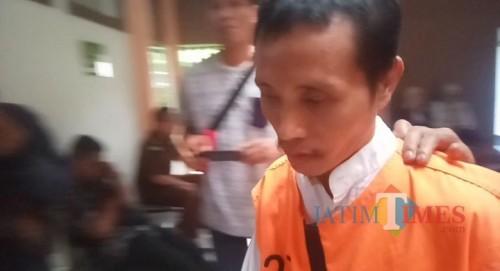 Tersangka mutilasi Sugeng Santoso (Anggara Sudiongko/MalangTIMES)