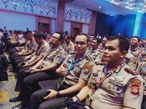 AKBP Harviadhi Agung Prathama saat menghadiri penerimaan penghargaam di Hall Holiday In Jakarta, Rabu (20/11/2019). (Foto: istimewa)