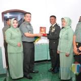 Dandim 0808/Blitar Pimpin Upacara MPP dan Pindah Satuan