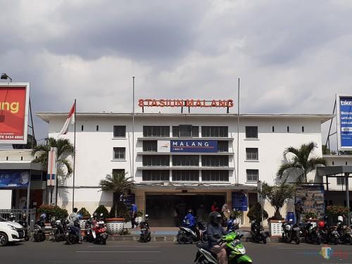 Stasiun Kota Malang (Arifina Cahyanti Firdausi/MalangTIMES)