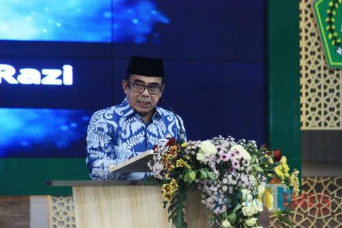 Menteri Agama RI, Fachrul Razi (Foto: Igoy/MalangTIMES)