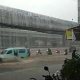 Viral Ada Air Terjun di Tol Becakayu, Ini Penjelasannya