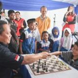 Antusias Tinggi, Wali Kota Kediri Apresiasi Open Turnamen Catur Cup II yang Diadakan PWI