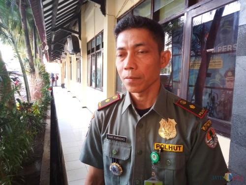 Kepala SatuanPolisiHutan (Kasat Polhut) Balai Konservasi Sumberdaya Alam (BKSDA) Jawa Timur, Hari Purnomo (Anggara Sudiongko/MalangTIMES)
