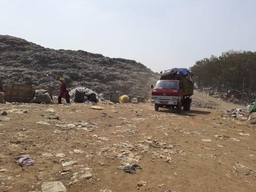 Kondisi sampah di TPA Supit Urang (Arifina)
