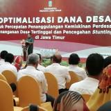 Dana Desa Dipastikan Naik Rp 231 Miliar, Pemprov Jatim: Tolong Kawal Kades