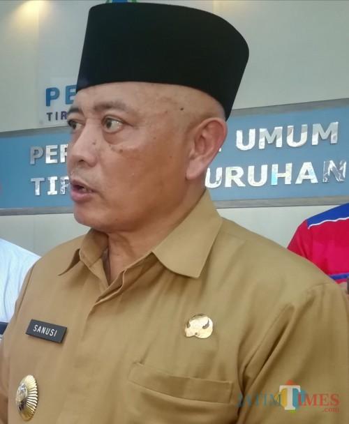 Bupati Malang Sanusi kembali menjanjikan bantuan keuangan untuk seluruh masjid dan guru madrasah di Kabupaten Malang tahun 2020. (Nana)
