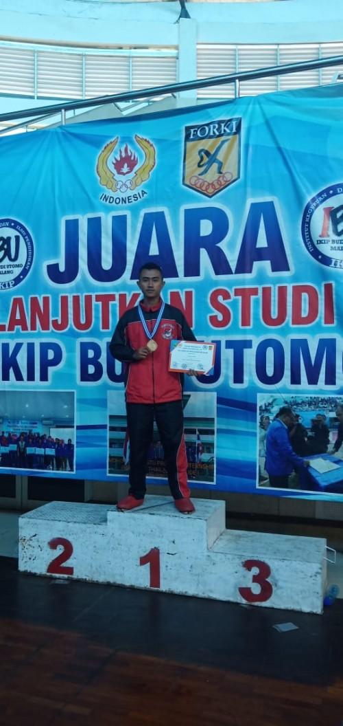 Prajurit Yonif 511/DY Prada Sakti Raih Juara Karate Tingkat Nasional