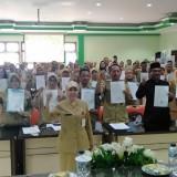 Antikorupsi, Ratusan Kepsek se-Kota Malang Tanda Tangani Pakta Integritas