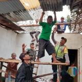 Diterjang Angin Kencang, Jumlah Rumah yang Terdampak di Kabupaten Malang Bertambah Menjad 38 Unit