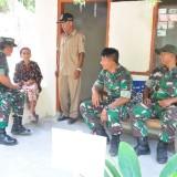 Pantau Program Bedah Rumah, Tim Pengawas Kodam V/Brawijaya Kunjungi Kodim 0808/Blitar