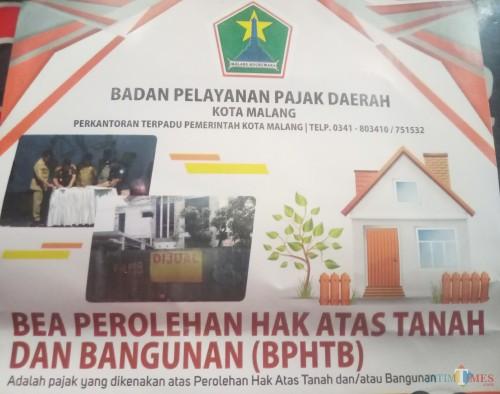 Ilustrasi pajak BPHTB (Anggara Sudiongko/MalangTIMES)