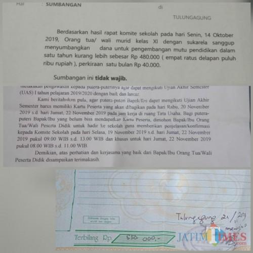 Tarik Sumbangan Lsm Bintara Adukan Sejumlah Smk Di Tulungagung Ke Gubernur Jatim Times