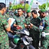 Tertib Berlalu Lintas, Kodim 0808/Blitar Cek Kelengkapan Berkendara Anggota