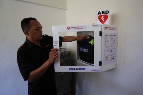 16 Fasilitas Publik di Surabaya Dilengkapi Alat Pacu Jantung