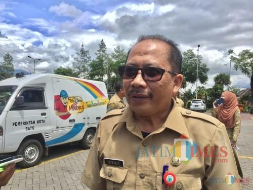 Kepala Badan Kepegawaiandan Pengembangan SDMKota Batu, Siswanto. (Foto: Irsya Richa/MalangTIMES)