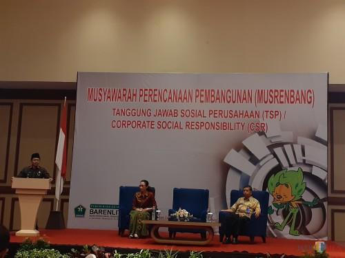 Suasana kegiatan Musrenbang Tanggung Jawab Sosial Perusahaan (TSP) dan Corporate Social Responsibility (CSR) di Hotel Ijen Suit, Kamis (28/11) (Arifina Cahyanti Firdausi/MalangTIMES)
