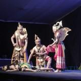 Kesenian Wayang Orang Sriwedari dari Surakarta Hibur Warga Kabupaten Blitar