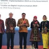 Kota Malang Boyong Dua Penghargaan Top Digital Awards 2019