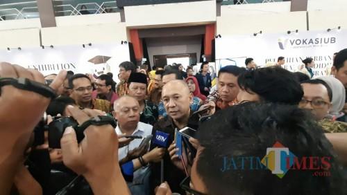 Menteri Koperasi dan UKM, Teten Masduki. (Foto: Imarotul Izzah/MalangTIMES)
