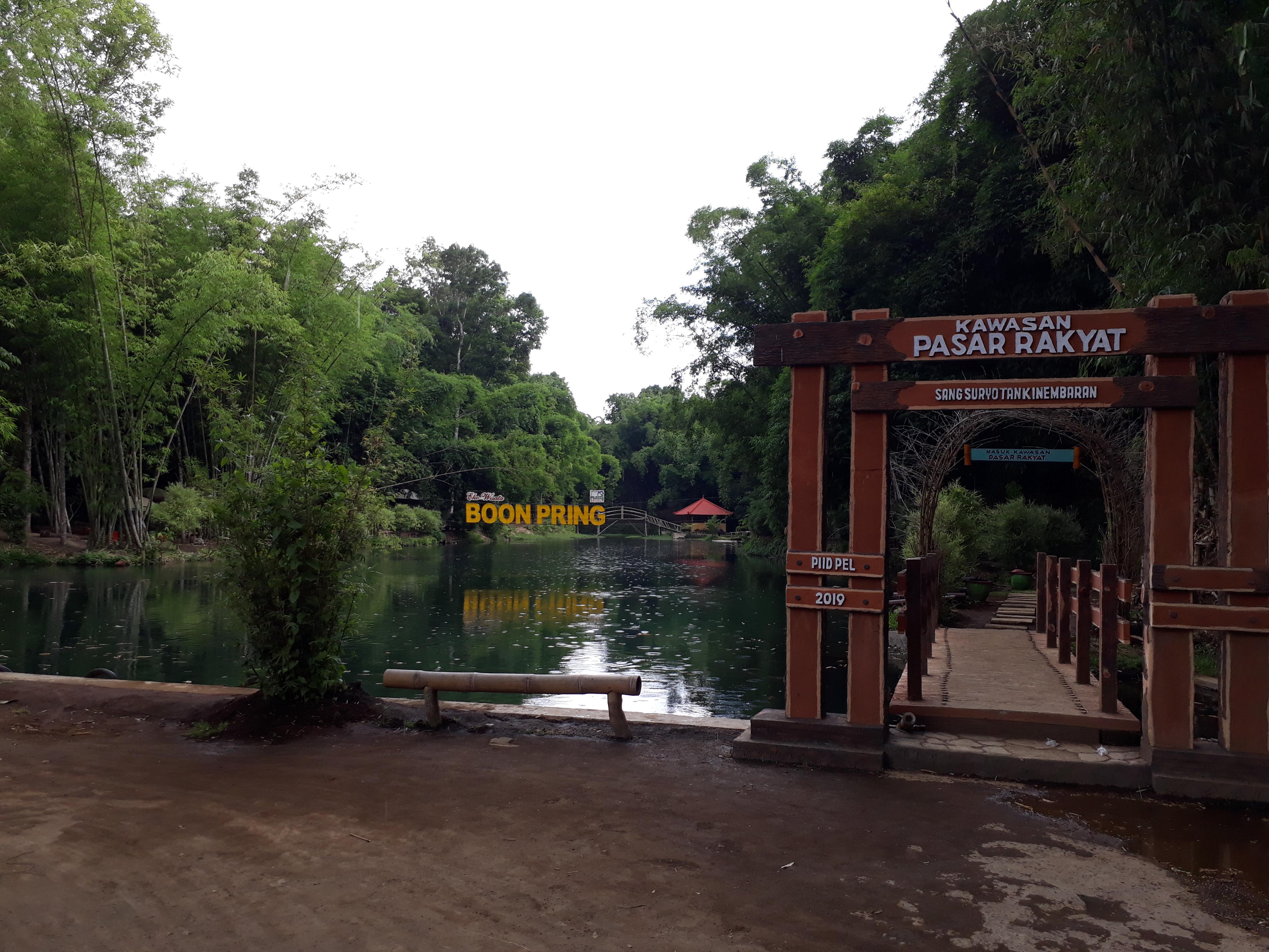Miliki 6 Jenis Bambu, Ekowisata Boon Pring Raup Miliaran Rupiah