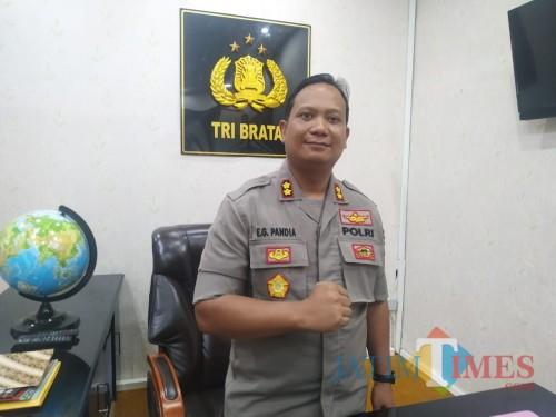 Kapolres Tulungagung AKBP Eva Guna Pandia / Foto : Anang Basso / Tulungagung TIMES