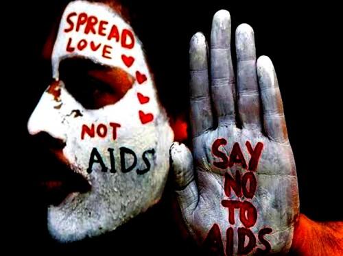 Ilustrasi gerakan stop HIV/AIDS (Ist)