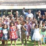 Dorong Minat Baca Anak-anak, Wali Kota Kediri Resmikan Taman Permata Hati