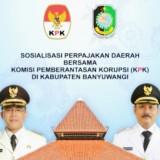 Gandeng KPK, Pemkab Banyuwangi Gelar Sosialisasi Perpajakan Daerah