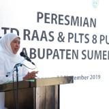 Khofifah Resmikan 8 PLTS di Sumenep, Jatim Semakin Menuju 100 Persen Teraliri Listrik
