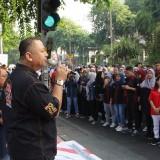Wawali Whisnu Kampanyekan Perangi Narkoba dan HIV Aids di CFD