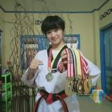 Galuh Pawestri Luhur, Jagoan Taekwondo Yang Multi Talenta dari Blitar