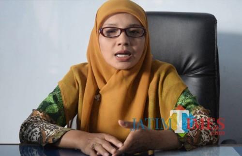 Kadispendukcapil Jember Isnaini Dwi Susanti SH (foto : dok / Jatim TIMES)