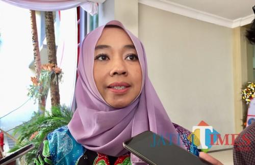 Kepala Dinas Kesehatan Kota Batu, Drg Kartika Trisulandari. (Foto: Irsya Richa/MalangTIMES)