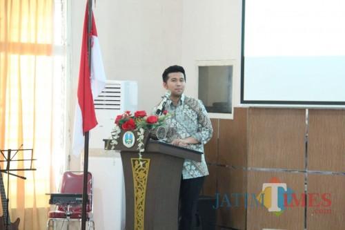 Wakil Gubernur Jatim, Emil Elistianto Dardak (Arifina Cahyanti Firdausi/MalangTIMES)