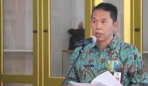 Sekda Kabupaten Malang Didik Budi Muljono menyampaikan adanya penundaan SPMT bagi pejabat yang pindah tugas (dok MalangTIMES)