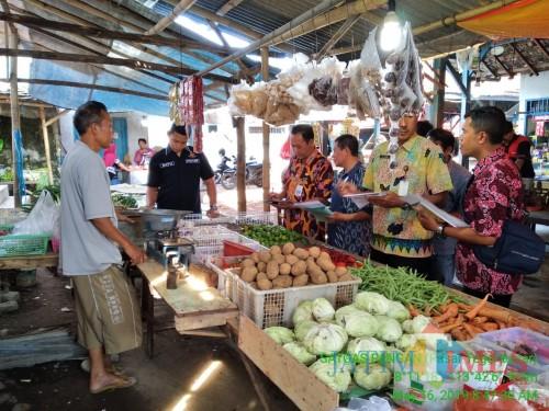 Jelang Akhir Tahun, Satgas Pangan Siap Sidak Pasar Tradisional