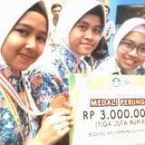 Trio Srikandi dari Sumberpucung Sabet Perunggu di OPSI 2019 Kemendikbud
