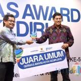 Walikota Kediri Apresiasi Gelaran  Germas Award